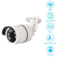 Wireless WiFi Cam Outdoor Night Vision IR Security System CCTV Network IP Camera