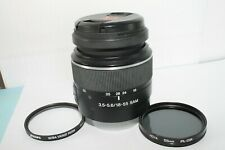 Sony SAL-1855 DT SAM 18-55mm f/3.5-5.6 Lens with filters