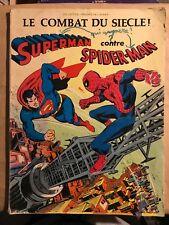 SUPERMAN CONTRE SPIDER-MAN (Sagédition) (Présence de l'avenir)