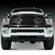 10-17 Dodge RAM 2500+3500 Replacement Big Horn Black Packaged Grille+Black Shell