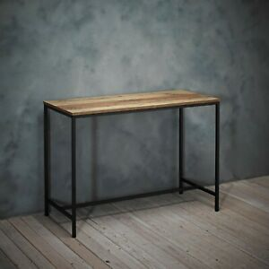 Industrial Style Metal Frame Computer Work Desk Study PC Writing Dressing Table