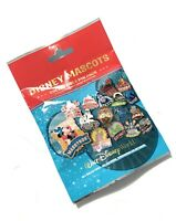 Disney World Parks Mascots Mystery Collectible 5 Pc Pin Pack Bag Sealed - NEW