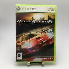 * EMPTY REPLACEMENT BOX CASE * RIDGE RACER 6 Xbox 360 Game