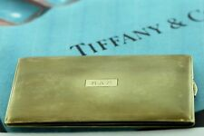 VINTAGE 14K GOLD HANDCRAFTED TIFFANY & CO CIGARETTE CASE FROM 1930