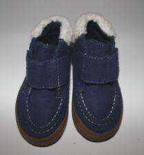 NWOT Baby CRAZY 8 Blue Ankle Boots w Faux Fur Trim Size 5
