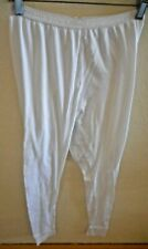 VICTORIA'S SECRET WHITE BASE LAYER PANTS SZ LARGE (7)