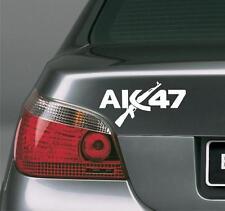AK-47 sticker RUSSIAN USSR war WEAPON 190x100mm car ipad pad decal ак 47