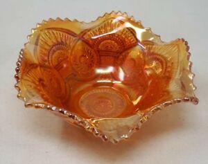 Antique Carnival Glass Bon Bon Sweet Bowl 16 x 6.5 cms