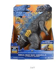 "PLAYMATES MONSTERVERSE GODZILLA VS KONG 13"" MEGA HEAT RAY WITH SOUNDS & LIGHTS"