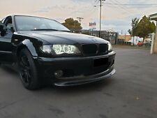 BMW 3 e46 Sedan CSL style front lip for msport 2 mtech bumper