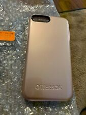 OtterBox Symmetry Series - iPhone 7/8plus (like new) - rose gold metallic