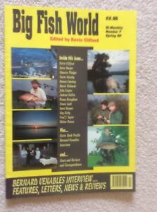 Big Fish World Number 7 Seven  Magazine Spring 1992 Edited By Kevin Clifford