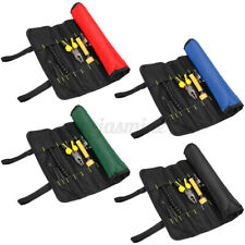 Roll Up Tool Storage Bag Pouch 22 Pocket Screwdriver Pliers Spanner Wrench Case