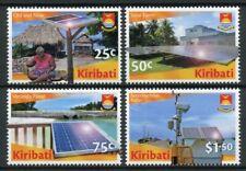 Kiribati Landscapes Stamps 2020 MNH Solar Energy Environment Nature 4v Set