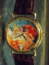 Womens Disney Parks Artist Vintage Little Mermaid Watch (Princess Ariel)VHTF-New