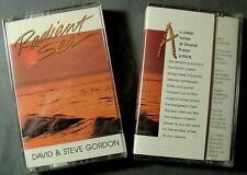 David & Steve Gordon:  Radiant Sea (Cassette, 1989, Sequoia) Rare-Out Of Print