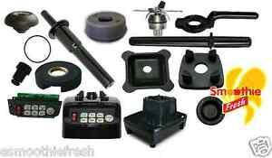 JTC OMNIBLEND SPARE PARTS : Inc. Drive Socket, Blades, Wrench, Sound Enclosure