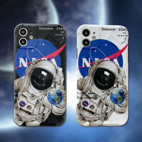 Cartoon Space Astronaut Phone Case Cover For iPhone 11 Pro Max XS XR SE 7 8 Plus