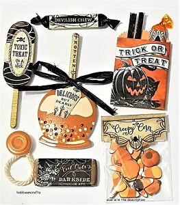 VINTAGE TREATS Jolee's Boutique 3-D Stickers - Halloween Goodies
