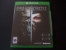 Replacement Case (NO  GAME) DISHONORED 2 TWO XBOX ONE 1 XB1 100% ORIGINAL