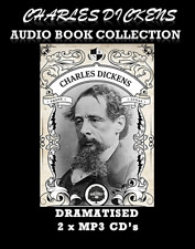 Charles Dickens Dramatised Audio Book Collection 2 x MP3 CD's 60 Hrs *SUPERB*