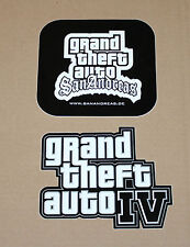 GTA 4 Grand Theft Auto San Andreas promo rare Sticker Stickers
