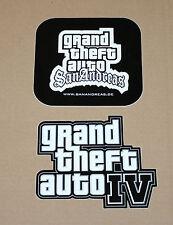 GTA 4 Grand Theft Auto San Andreas promo rare Sticker Stickers