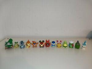 Pokemon Finger Puppets x13 Bandai Nintendo Toys Turtwig Chimchar Piplup Kriketot