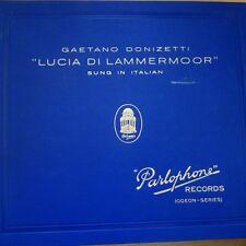 SW 8065-77 Donizetti Lucia Di Lammermore / Consoli EIAR Symphony 13 x 78rpm
