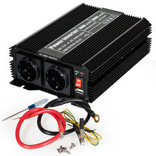 Inversor Convertidor 12V 220V 1000W 2000W Transformador Onda Modificada +5V USB.