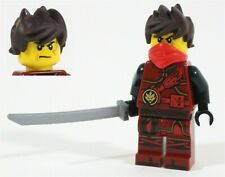 LEGO NINJAGO KAI MINIFIGURE FIRE NINJA 70621 HANDS OF TIME TWINS - GENUINE