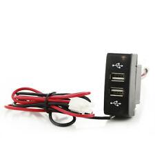 1xUSB Lader Vertiefte Stecker Doppel USB Lader für Mercedes Actros MP3 12/24V