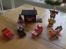 LEGO COSTRUZIONI MATTONCINI GIOCATTOLO Bundle tra cui Disney Cars BATMOBILE ecc.