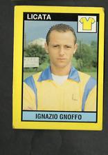 Figurina Il Grande Calcio Vallardi! 1988-89! N.453 Gnoffo Licata Ottima!