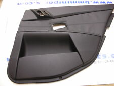 BMW E60 E61 Rear Left Leather Door Card Black 51427078603