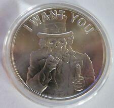 2014 Silver Shield Collection Slave Uncle 1oz .999 Silver Bullion Round