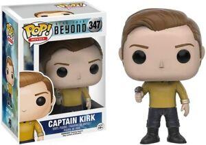 Star Trek Beyond Captain Kirk Pop! Movies Vinyl Figure #347 Funko