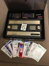 Intellivision Console With Games And Guides
