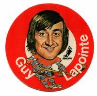 1973/74 Mac's Milk Guy Lapointe Cloth Sticker Montreal Canadiens