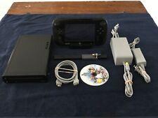 Nintendo Wii U 32GB Console Deluxe Set w/ Super Smash Bros, HDMI,Power Supplies