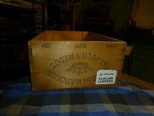 2004 CLOS DU MARQUIS St JULIEN MEDOC WOOD WINE CRATE France & Harrison, NY VG !
