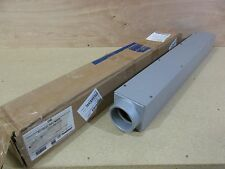 """New Appleton 1245  3"""" x 36"""" Steel Pull Box with Cover"""