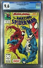 Amazing Spider-Man #378 (1993) CGC 9.6 WP 1st Venom vs Carnage cover 3824799008