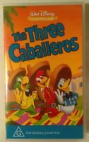 The Three Caballeros VHS 1944 Walt Disney 1994 Classics Edition Small Case