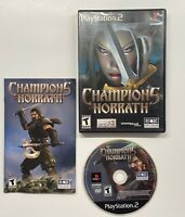 Champions of Norrath: Realms of EverQuest (Sony PlayStation 2, 2004) COMPLETE!!