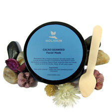 Organic Chocolate Face Mask with Seaweed Kaolin Clay Natural Facial Skin Care