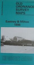 OLD ORDNANCE SURVEY MAP EASTNEY & MILTON  HAMPSHIRE 1896 SHEET 84.09 NEW