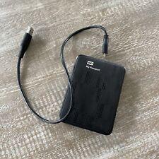 WD My Passport 1TB Black Portable Hard Drive - Free Shipping!