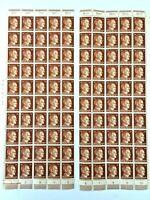 THIRD REICH 1941 - 2x Half (Full) SHEET 24 Pfennig - MINT/NH, Folded - SC 517