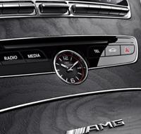 Neuf Véritable Mercedes Benz C W205 AMG Console Centrale Iwc Analogique Horloge